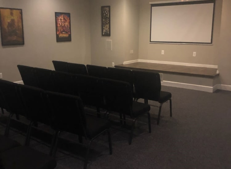 Our Apartments in Katy, Texas offer a Movie Viewing Room