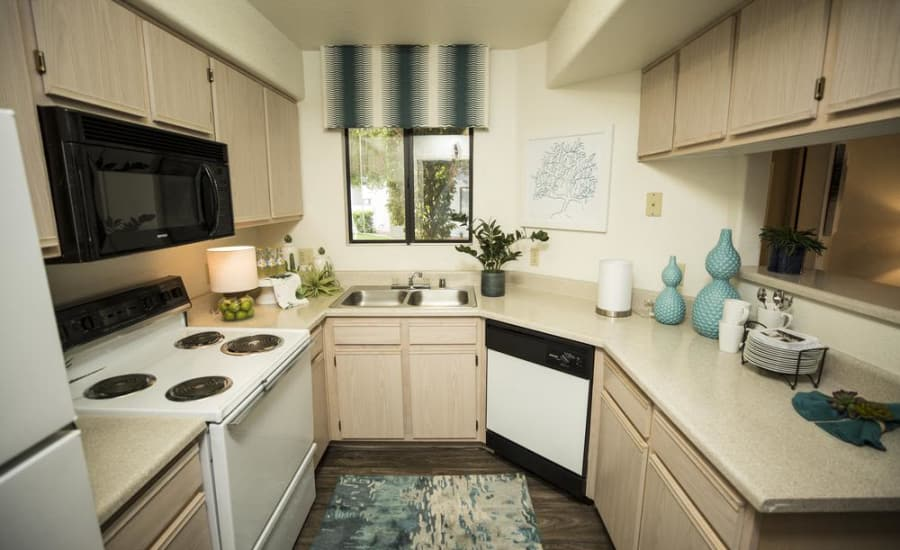 Contact us to schedule a tour of our spacious floor plans at San Valiente Luxury Apartment Homes in Phoenix