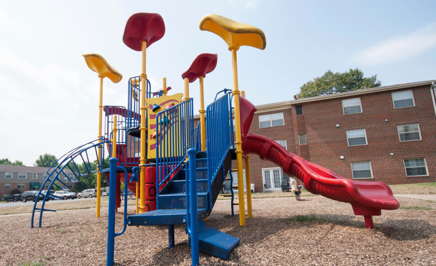 Playground at Westgate Apartments & Townhomes in Manassas, Virginia