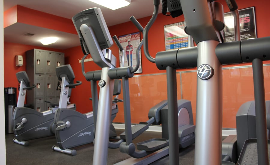 Fitness Center at Westgate Apartments & Townhomes in Manassas, Virginia