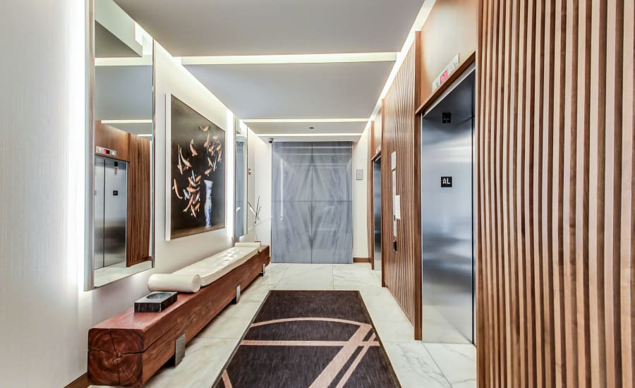 Interior Elevators at Residences at 8 East Huron in Chicago, Illinois