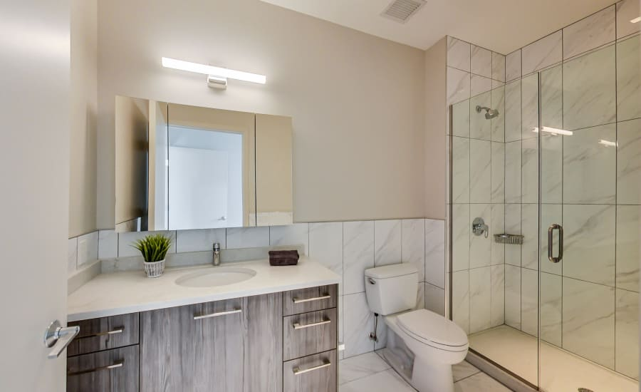Beautiful Bathroom at Apartments in Chicago, Illinois
