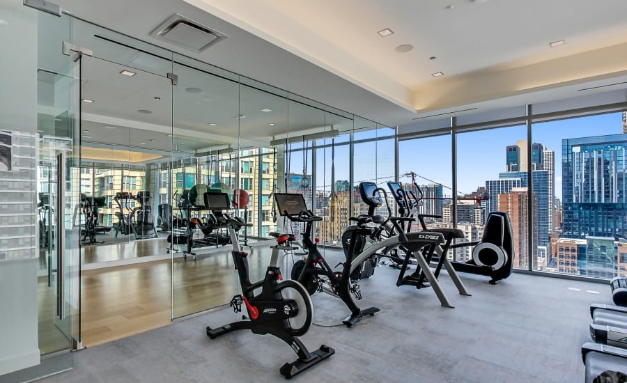 Our Apartments in Chicago, Illinois offer a Fitness Center