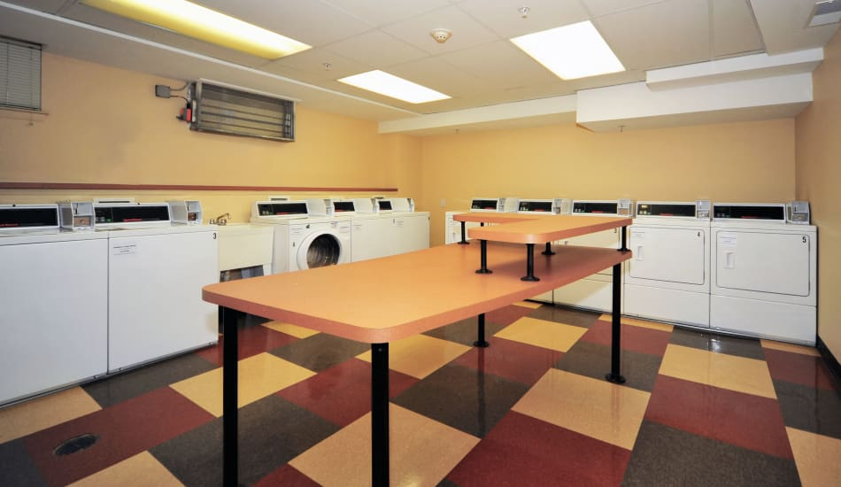 Our apartments in Silver Spring, MD offer a laundry facility