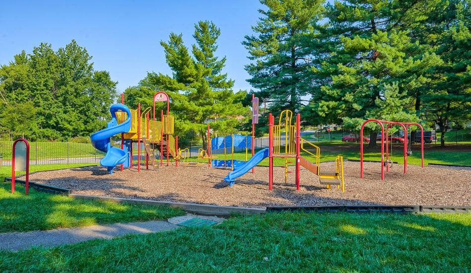 Beautiful playground at apartments in Capitol Heights, Maryland