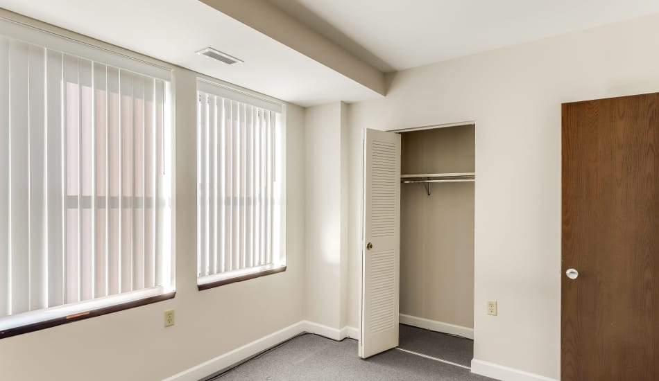 Example bedroom at apartments in Cumberland