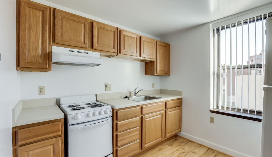 Nice clean kitchen in our Cumberland, MD apartments