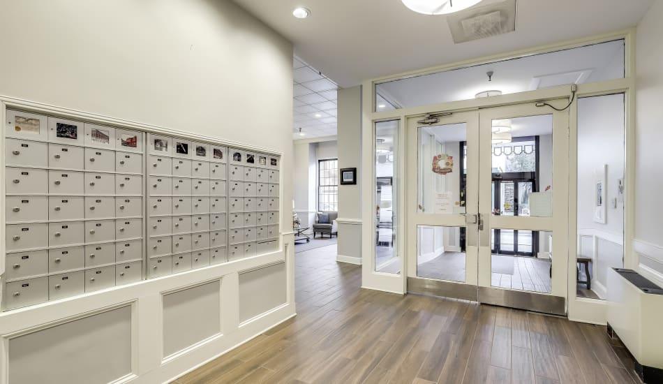 Lobby at Cumberland Arms Apartments