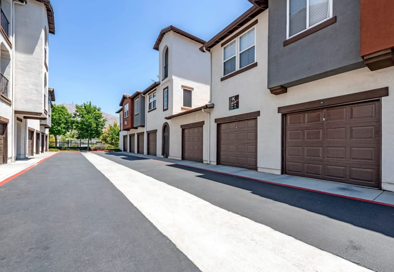 Vista Imperio Apartments in Riverside, California offers garages for select apartments