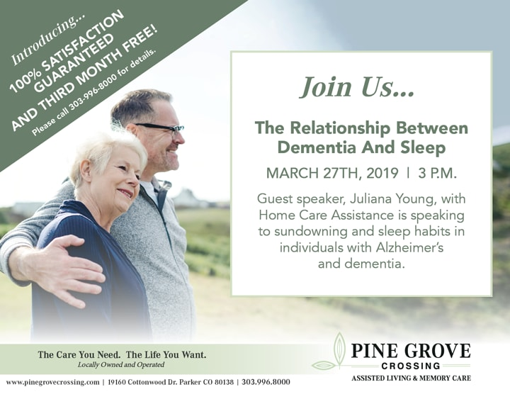 Pine Grove Crossing Promotional Flyer