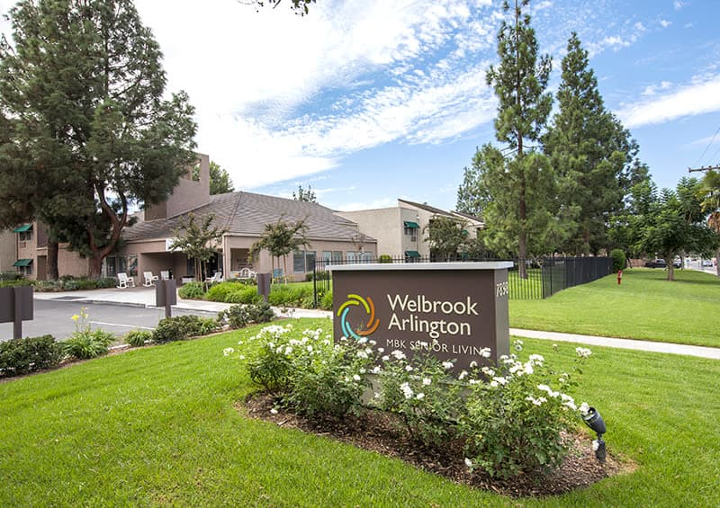 Senior living at Welbrook Arlington in Riverside, CA