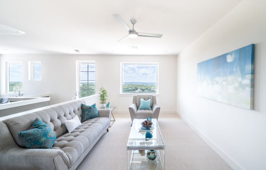 Sitting room home staging