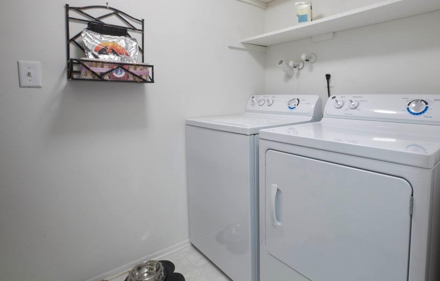 In-home washer and dryer at Muirwood in Farmington/Farmington Hills, Michigan
