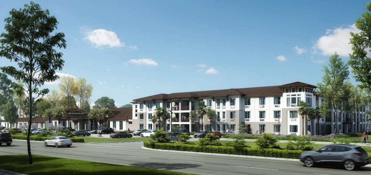 Rendering of Alura By Inspired Living in Rockledge, Florida.