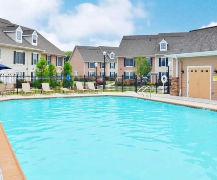 Montgomery Manor Apartments & Townhomes offers a swimming pool in Hatfield, PA