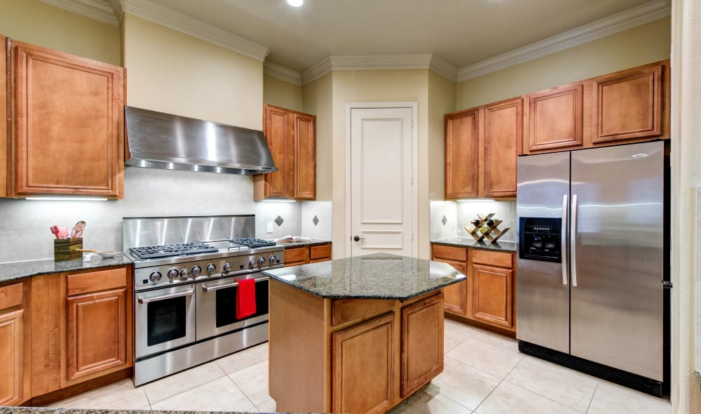 Nice clean kitchen in our San Antonio, TX apartments