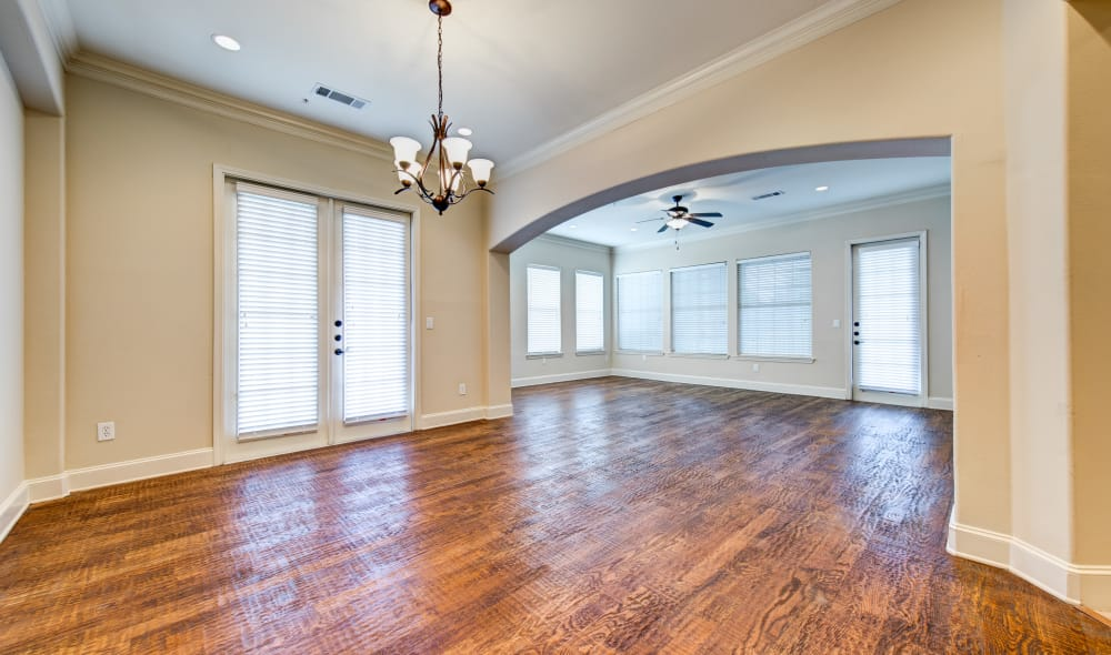 Marquis at Stone Oak has beautiful wooden floors