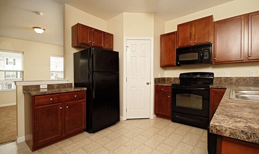 Nice clean kitchen in our Harrisburg, PA apartments