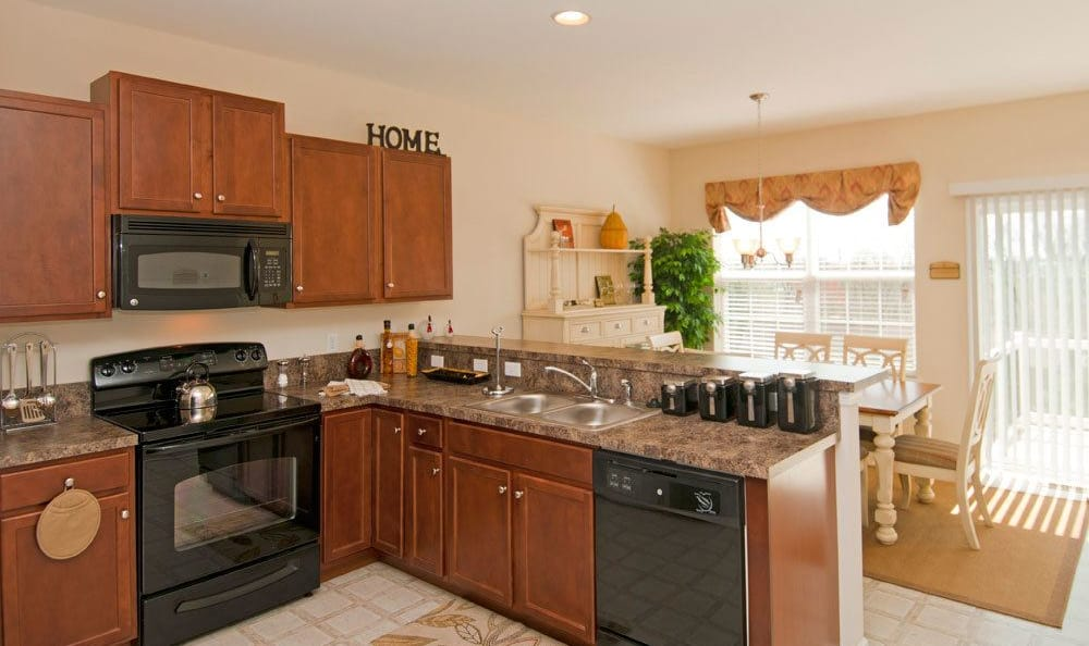 Spacious kitchen in our Harrisburg, PA apartments