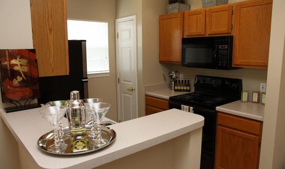 Open kitchen at Morgan at North Shore