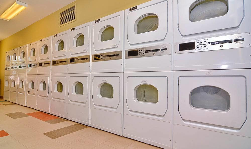 Laundry center at The Pearl at Spring Creek in Albuquerque New Mexico