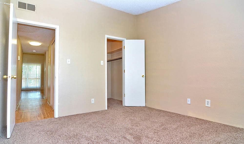 Walk-in closets at The Pearl at Spring Creek in Albuquerque New Mexico