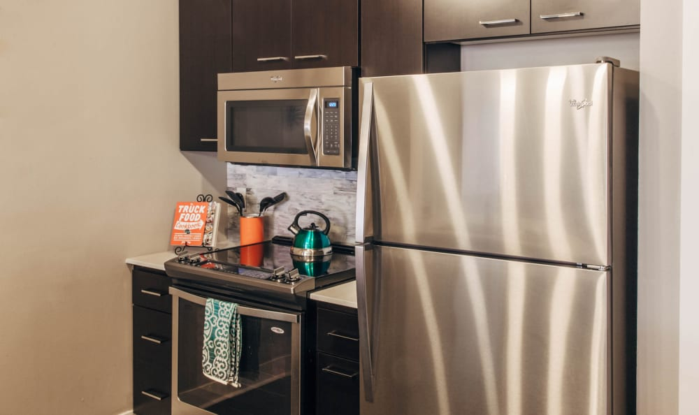 Example kitchen at Marq 211