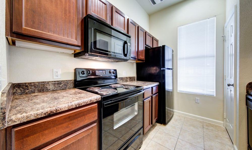 Spacious kitchen in our San Antonio, TX apartments