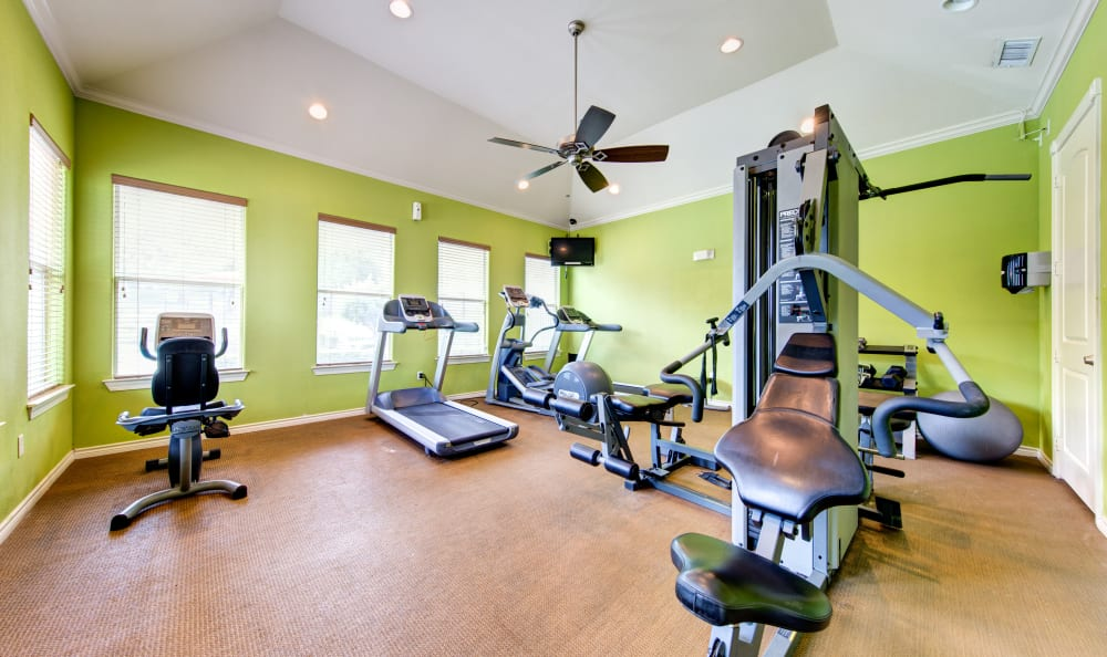 Fitness center at Marquis at Crown Ridge