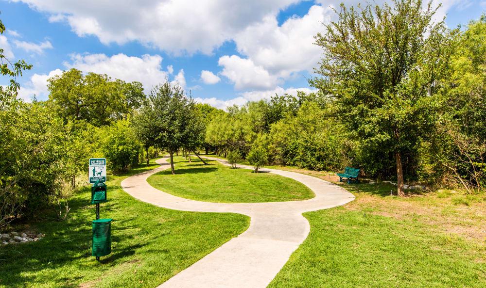 Beautiful walking trail near Marquis at Crown Ridge