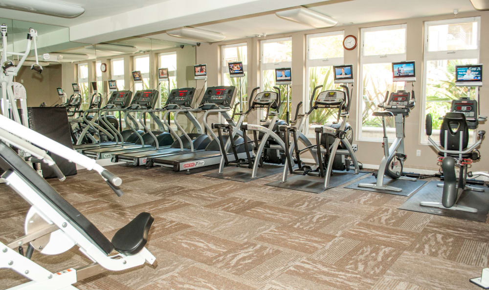 get healthy at The Villagio fitness center