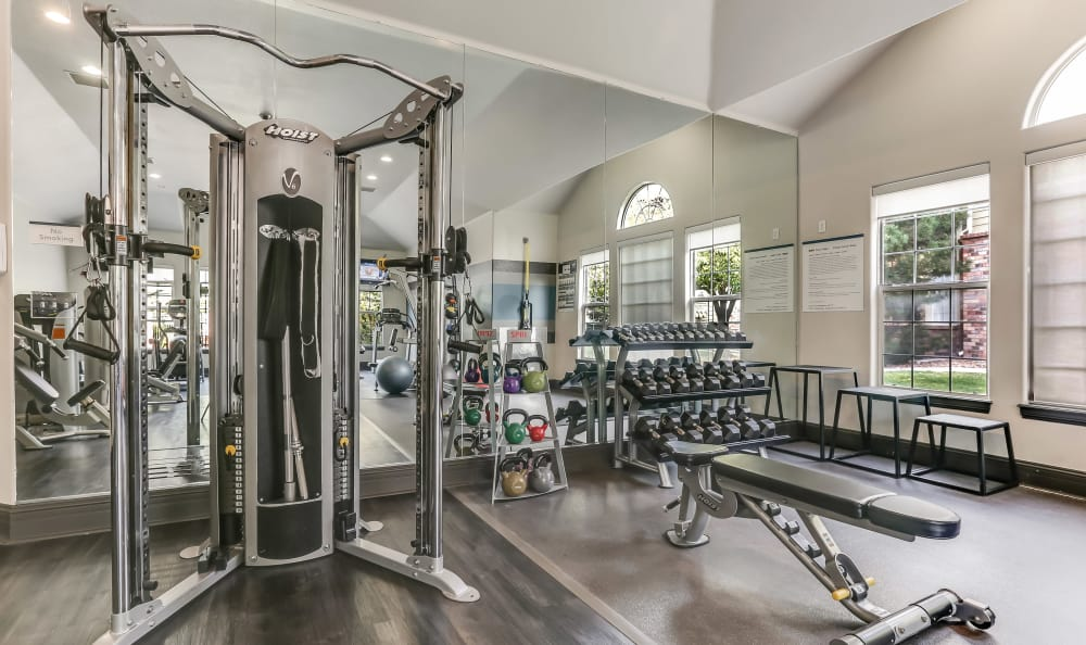 Fitness Center At Dove Valley Apartments In Englewood CO