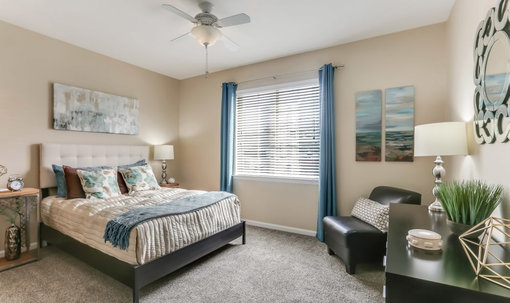 Dove Valley Apartments offers a cozy Bedroom in Englewood, Colorado