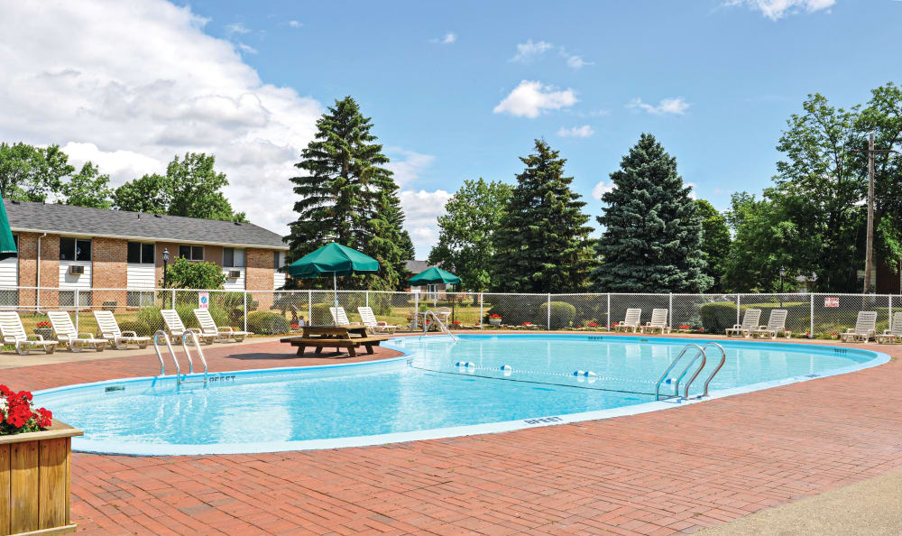 apartment for rent with swimming pool in Rochester NY