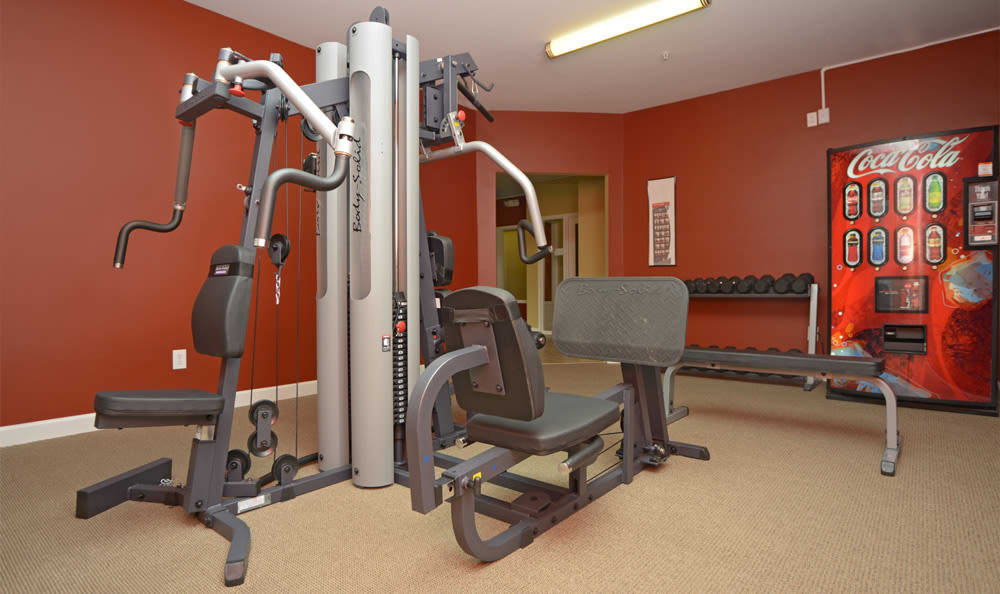 The Reserve fitness center in Evansville