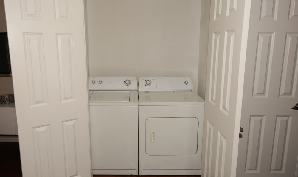 In-unit washer and dryer at The Broadway at East Atlanta
