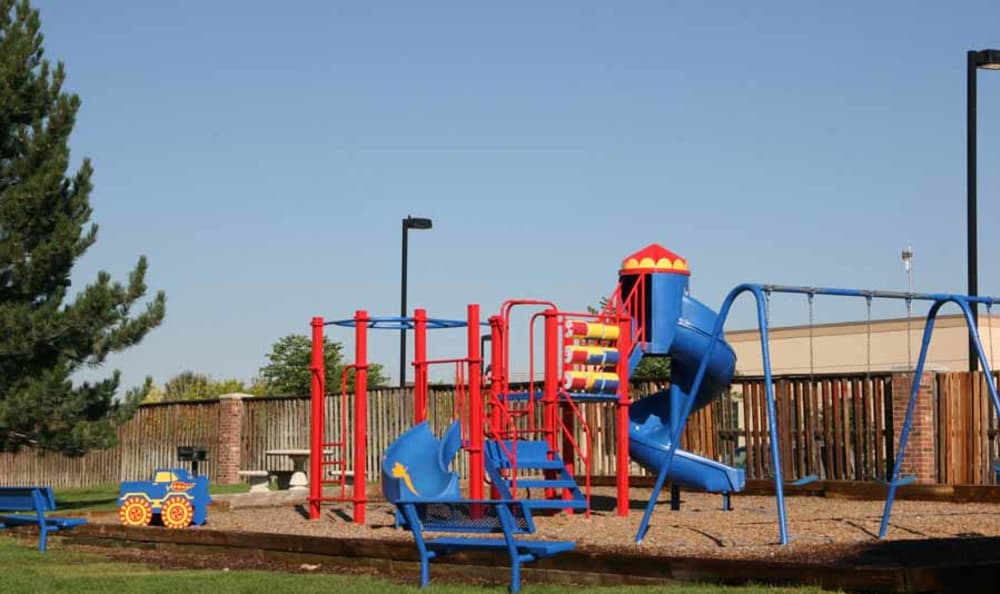 Playground Equipment at Montair Apartment Homes in Thornton, Colorado