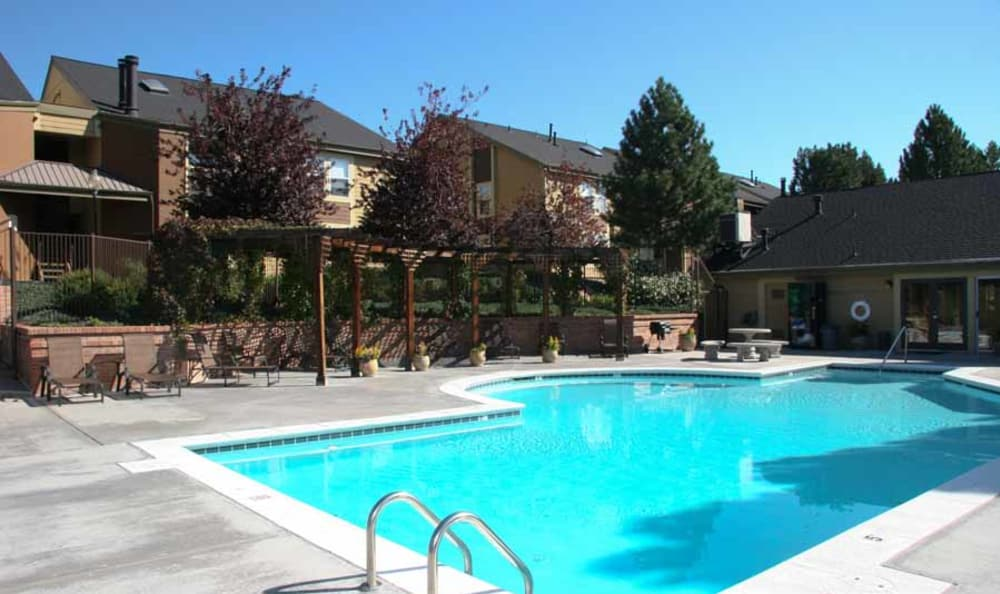 Refreshing Swimming Pool at Montair Apartment Homes in Thornton, Colorado