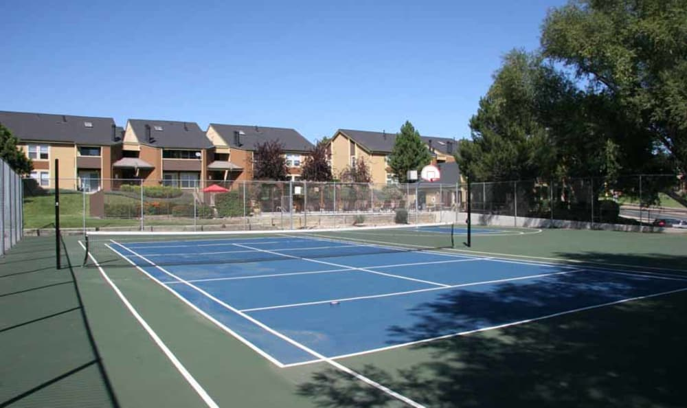 Tennis Court at Montair Apartment Homes in Thornton, Colorado