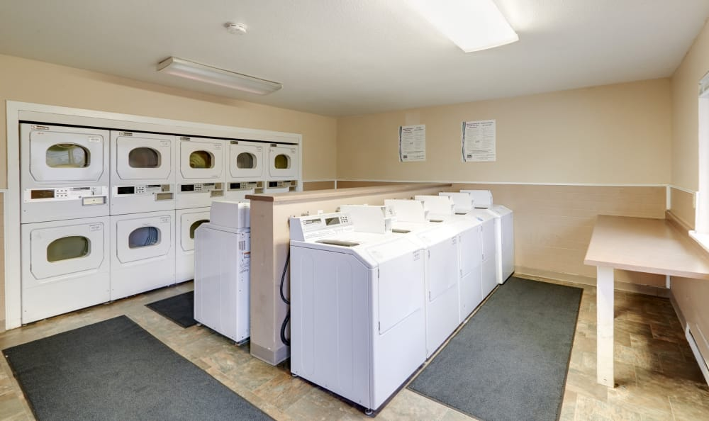 On-site laundry facility at Arbor Chase Apartment Homes