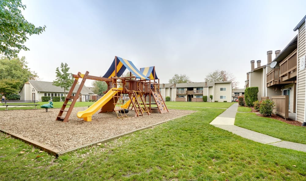 On-site playground at Arbor Chase Apartment Homes