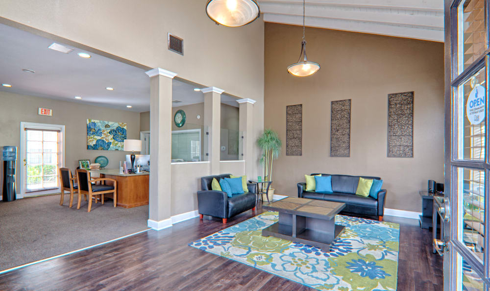 Clubhouse interior from another angle at Cordova Park Apartment Homes in Lancaster, CA