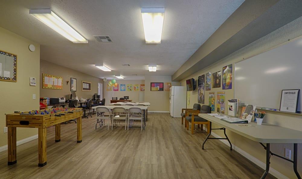 Resident center at Creekside Village Apartment Homes in San Bernardino, CA