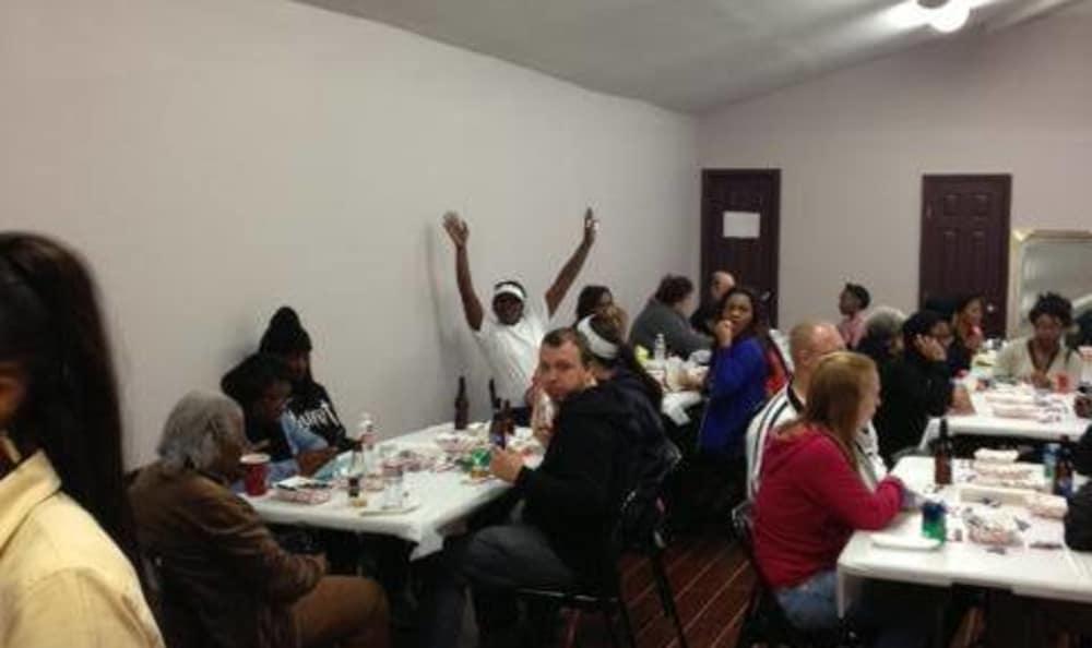 Everyone happy atHarvey, Louisiana