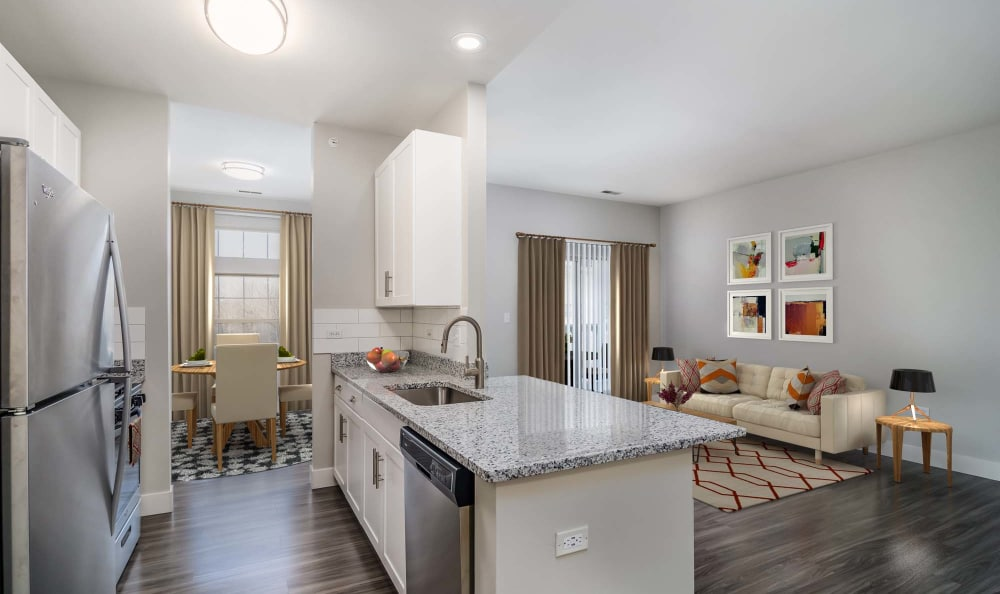New finishes at The Preserve at Osprey Lake in Gurnee, Illinois