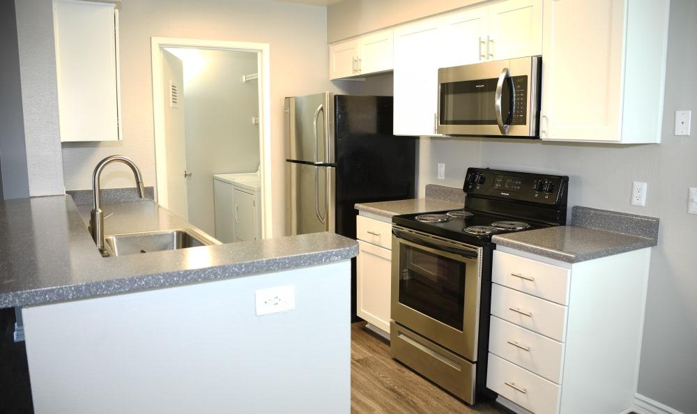 Kitchen at Sierra Del Oro Apartments