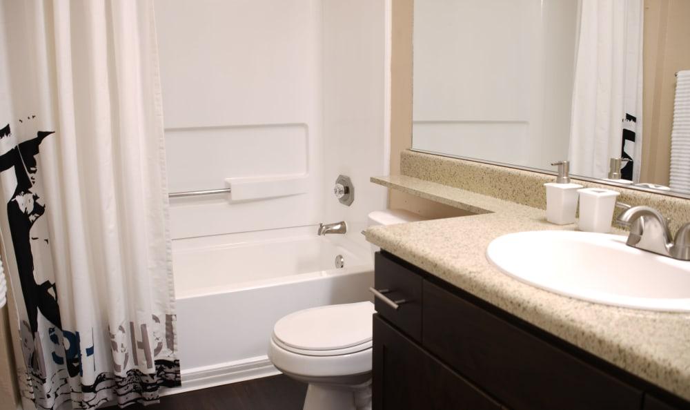 Bathroom at Sierra Del Oro Apartments
