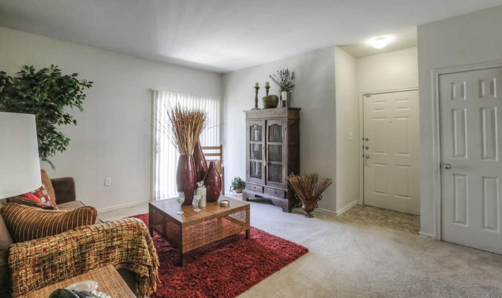 Spacious room at Stone Creek Apartments