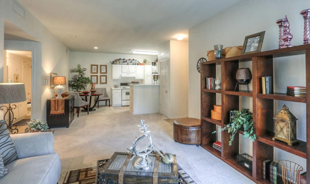Spacious floor plan at Stone Creek Apartments