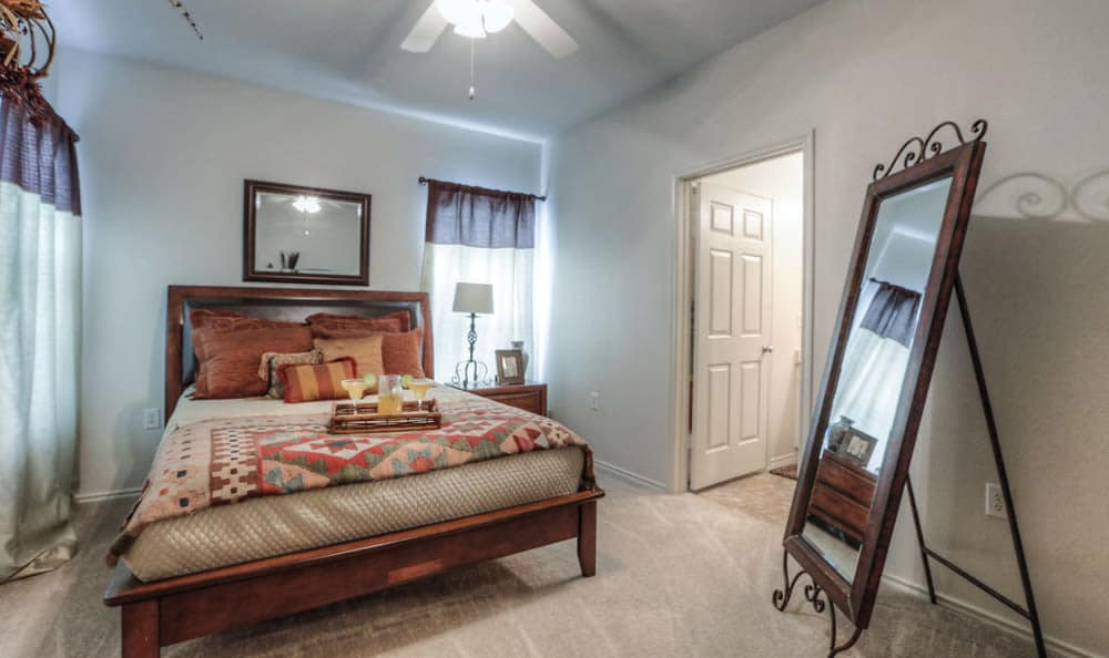 Model Bedroom at Stone Creek Apartments